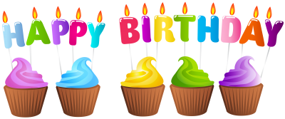Download Birthday Candles And Cakes PNG PNG Images