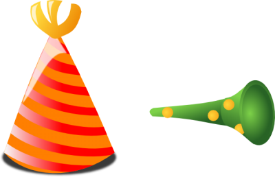 Birthday Hat And Horn Clip Art At Picture