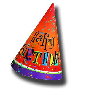 Birthday Hat Transparent Images