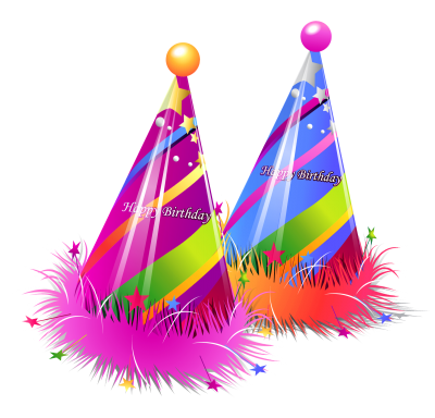 Colorful Birthday Hat Png PNG Images