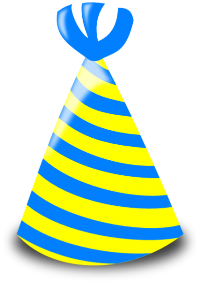 Colors Party Birthday Hat Pictures PNG Images