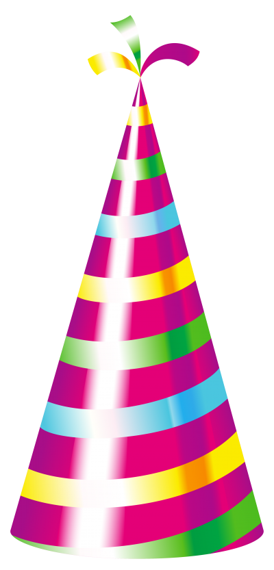 Golden Happy Birthday Hat Png PNG Images