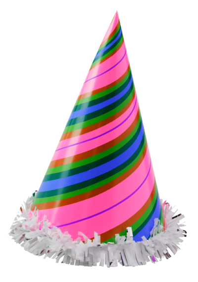 Happy Birthday Hat Child Png PNG Images