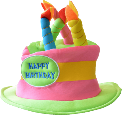 Happy Birthday Hat Transparent Png PNG Images