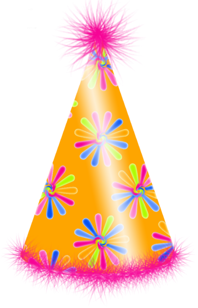 Orange Birthday Hat Png images PNG Images