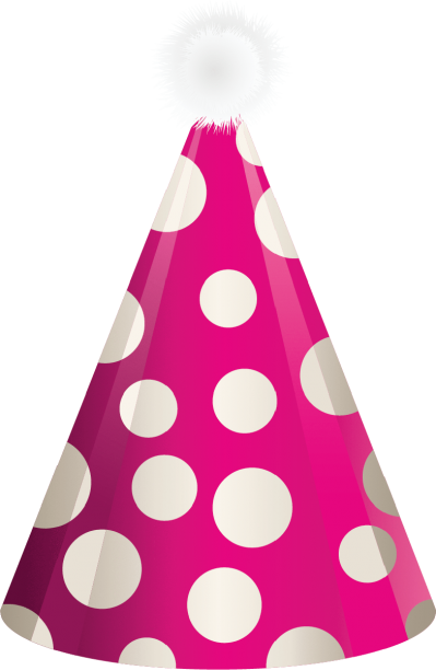Purple Happy Birthday Hat Png
