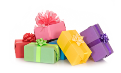Birthday Present, Birthday, Bow, Birthday Png Images Transparent