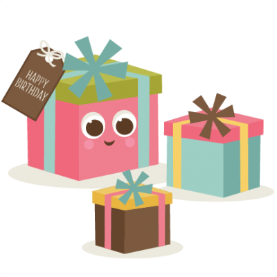 Birthday Presents Images Clipart