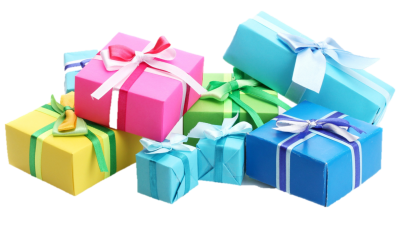 Birthday Presents Png Clipart