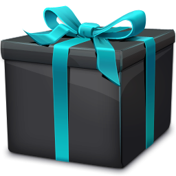 Black Box Birthday Present Png Transparent Images