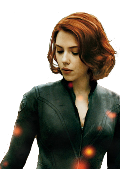 Black Widow Transparent Background PNG Images