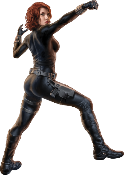 Black Widow, Marvel Avengers PNG Picture