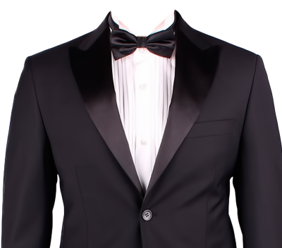 Black Blazer Suit Png Pictures
