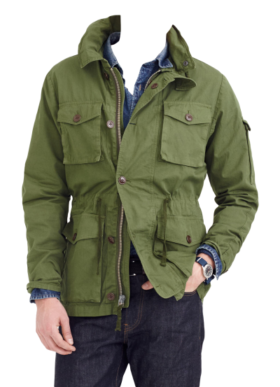 Green Jacket Png Transparent Images
