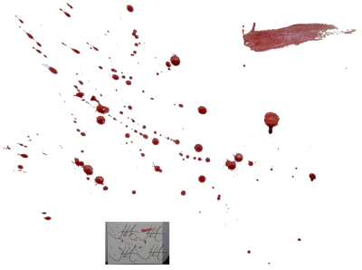 Blood Splatter Clipart Transparent