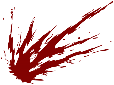 Blood Splatter Clipart Photo