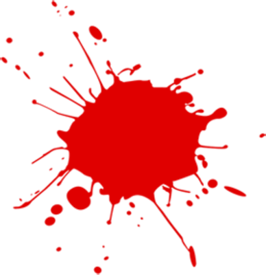 Download BLOOD SPLATTER Free PNG transparent image and clipart