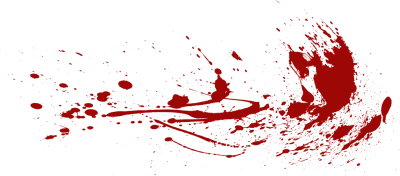 Blood Splatter Cliparts
