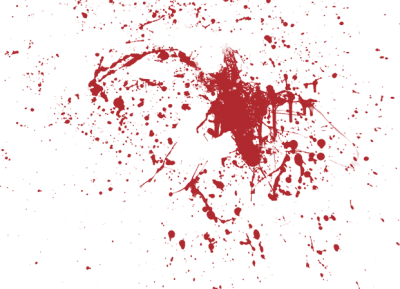 Blood Splatter Background Transparent