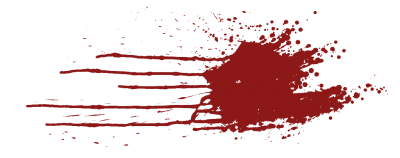 Blood Splatter Transparent Clipart Hd