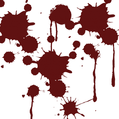 Blood Splatter Clipart Hd
