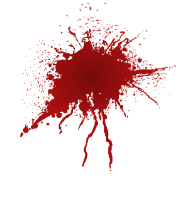 Blood Splatter Icon Clipart