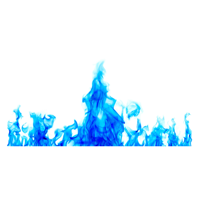 Blue Fire Background 16