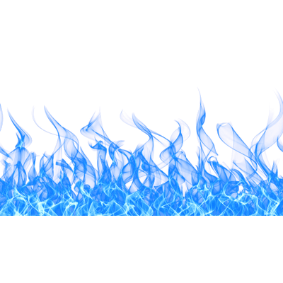Image Blue Fire Transparent