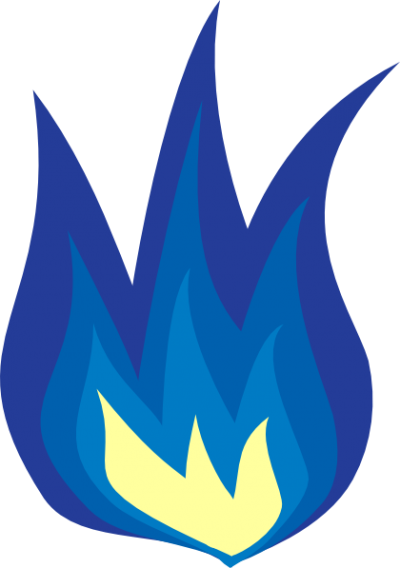 Picture Blue Fire PNG