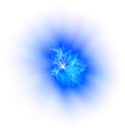 Transparent Image Blue Fire