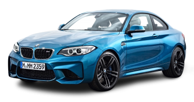 Blue Bmw Coupe Car Transparent Background PNG Images