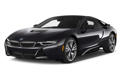 BMW I8 Black Sports Car, Single Door, Coupe Png PNG Images