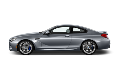 BMW M6 Coupe Side View Hd Gray Model PNG Images