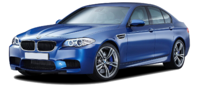 Bmw BMW M5 Blue Color-vector Image PNG Images