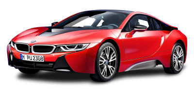 Bmw I8 Protonic Red Car Police PNG Images
