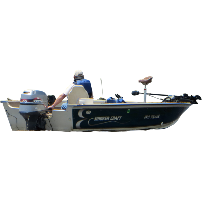 Fisherman On A Boat Photo