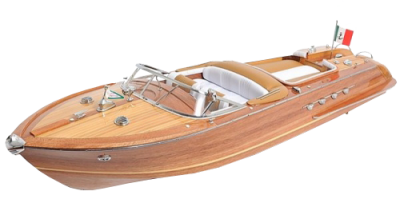 Wooden Cruise Boat Transparent