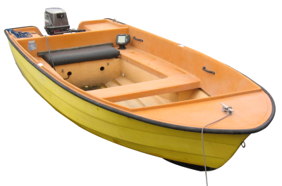 Yellow Boat Png PNG Images