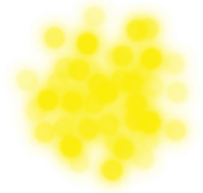 Yellow Bokeh Clipart Transparent