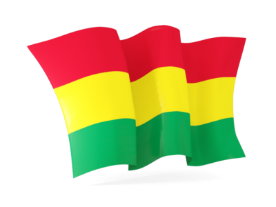 Bolivia Flag Cut Out PNG Images