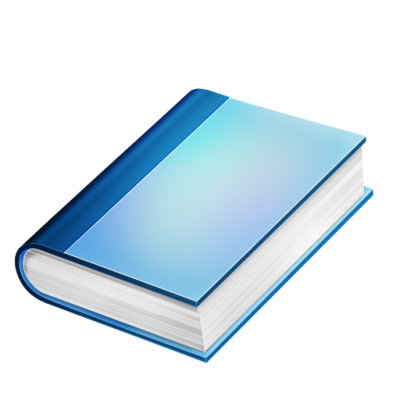 Book Blue Transparent Picture