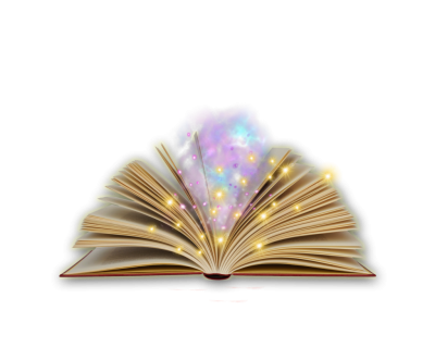 Magic Book Transparent Background PNG Images