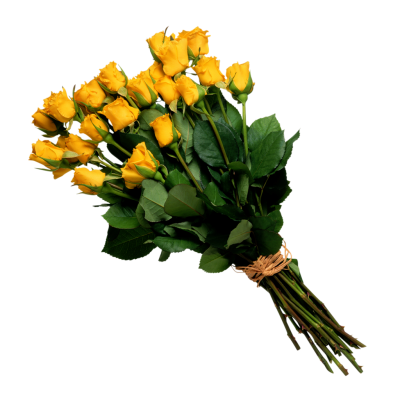 Bouquet Yellow Clipart Transparent