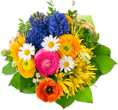 Colorful Bouquet Flowers Picture Images PNG Images