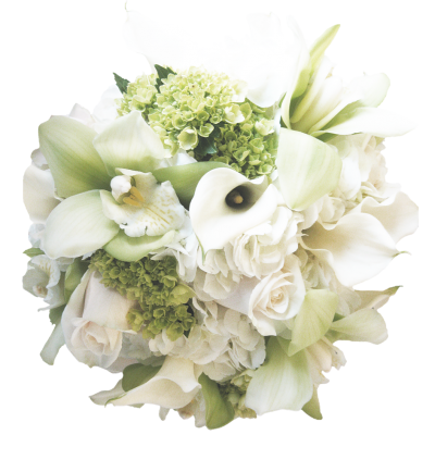 White Floral Bouquet Free Transparent Png PNG Images