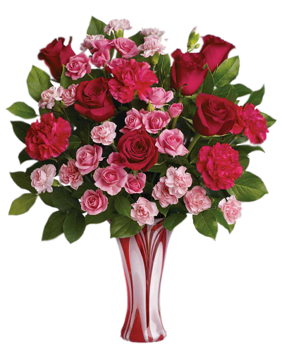 Bouquet In Vase Clipart PNG File PNG Images