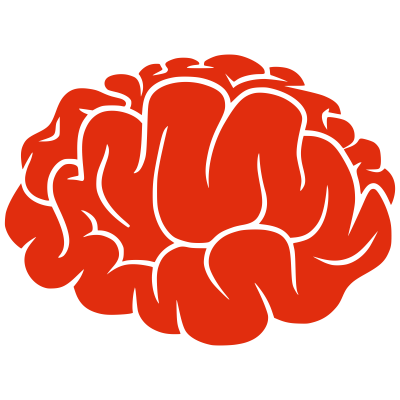 Red Brain Clipart PNG Photos PNG Images