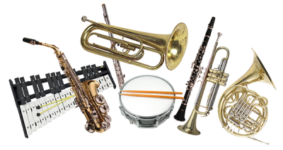 Brass Band Instrument Png Transparent