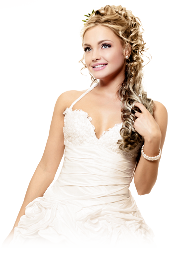 Blonde Bride Png PNG Images