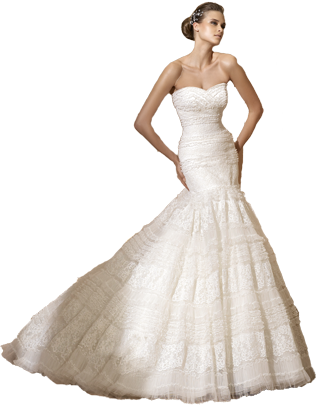 White Bride Photo PNG Images